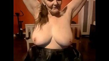 with toilet brush granny Linda kiss casting