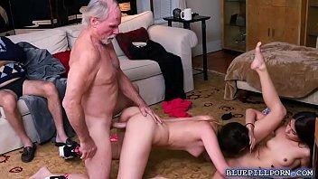 gigi claire5 st Granny plays with cum