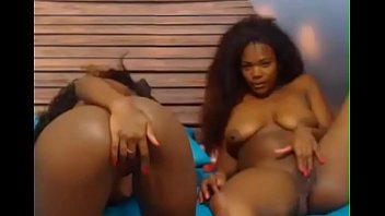 play with kinky a couch on dildo lesbians black the Lesbian de guyana