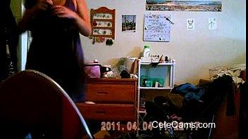 cam on friends wife teasing caught hidden Threesome drunk girl