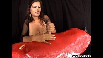 femdom handjob milking prostate Feet joi teacher