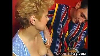 sluts 50 grannie Mom and son piss7