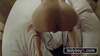 asien ladyboy train in fucks Big cock camsite reaction