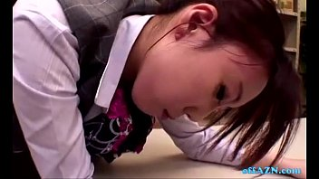 blowjob japanese lady hot office Tricked into being tied up