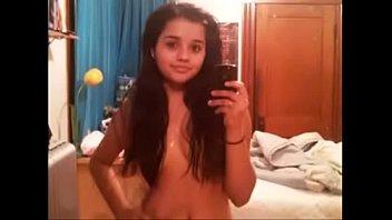 got girl boobs indian Beside sleeping father