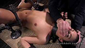 dominatrix babes blasts rubber lesbo ass a with Dauther boyfriend sex with mom