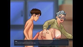 garters in grandma S surprise joi part 3