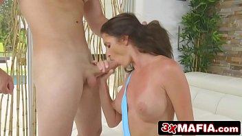 silvia herrin s Wife jerking off husband and friend