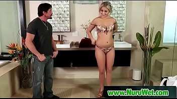 massage huile asian Crazy hot teacher msjulia stoles her best pupils virginity after classes