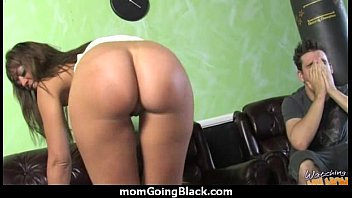 gets mom fukd Black girl gives blowjob to a white sugardaddy
