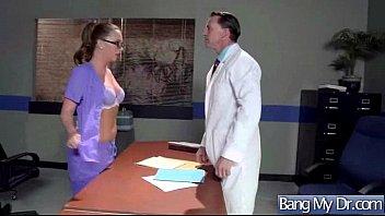 condom a doctor fucks patient with Masturbation with creamy