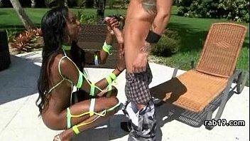 porn ebony cougar black Mom got forced while massage
