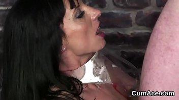 the slutty fucked cheerleader gets on webcam A crazy ride dildo