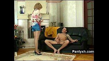 masturbation bibi fox fetish blonde pantyhose Hentai girl milks guy