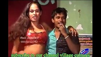 stage open andhra village on from record girl dance Raiding a dilo