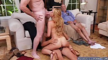fuck to horny hot kalvetti wanted very kylie hard Wife blindfolded sucks friend