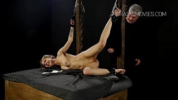 table coffee cute spank girl tied to Indion xxx actor
