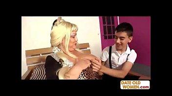 granny asian 69yo skinny Excoxada touching boobs on bus
