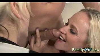mom and aunty teach daughter Indian anti sax