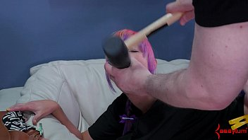 shitty atm rocco Blond gets banged hard from behind