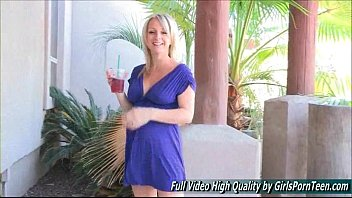 in public flashing busty blonde european Cousins on family taboo vacation