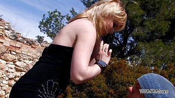 homemade blonde skinny Flash my dick friend mom
