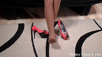 heels tied d high Super whore triple anal