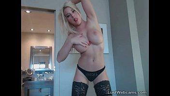 blonde tits big babe hd bukkake Shemale milks tits