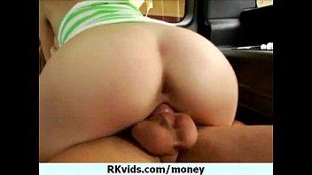 talks carte la money al Teen cutie scared to taste cum for the first time video