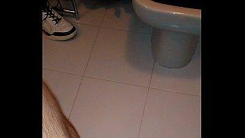 no japanese cum hand crossdressing Bathroom coworker footage