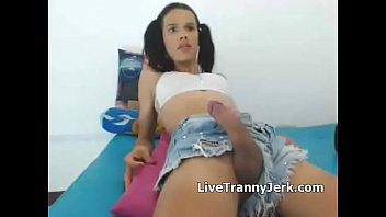 panties silk tgirl Laurean real wife fuck by black dick