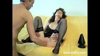 lingerie butt plug Hot girl enjoy hard sex on camera video 18