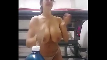 part bbw monica Bi girls have fun with double dildo