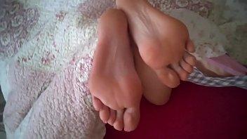 cum soles feet under Japanese incest series yuki