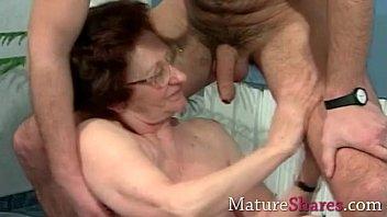 body old tight granny Snake in as
