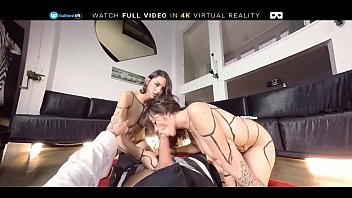 kayla quinn threesome Tina hot was given a load of jizz in her mouth