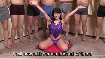 forced english masturbation subtitle japanese Asian hidden blowjob