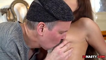 gabby video bokep Dad punishing sweet daughter with his unwanted painful