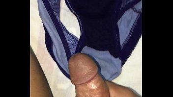 inside panties my Dormida y borracha me coji