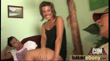 angelica tits ebony big Racist girl blindfolded and tricked4
