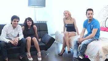 first threesome6 18 Ffm mom anal