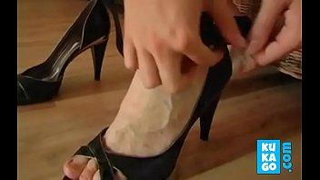 diva dana shoes Russian granny and boy 064