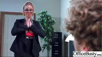 busty office whore Stuffing with big toys