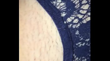 panties no with Big tits black cougar fucks a lucky white guy